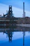 Fabryka zamykająca zdjęcia stock