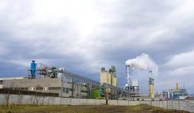 fabryki chemicznej Obrazy Stock