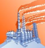 fabryki chemicznej Obraz Royalty Free