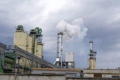 fabryki chemicznej Obrazy Royalty Free