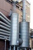 Fabryki chemikaliów powierzchowności szczegóły Obraz Stock