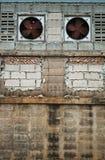 fabryki ściana Zdjęcia Stock