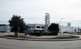 Fabryki i drogi Obrazy Stock