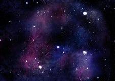fabula starfield 免版税库存照片