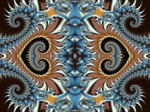 Fabulous background with Spiral Pattern. You can use it for invi. Tations, notebook covers, phone case, postcards, cards and so on. Artwork for creative design Royalty Free Stock Photos