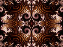 Fabulous background with Spiral Pattern.  Stock Images