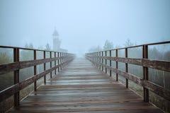 Fabulous blue mist. stock photography