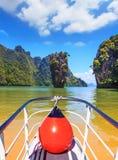 Fabulous boat trip Stock Photo