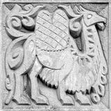 Fabulous camel, bas-relief Royalty Free Stock Photography