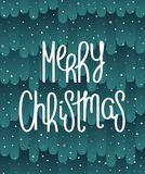 Fabulous Merry Christmas design Stock Images