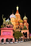 Fabulous Colors of St. Basil's Cathedral Stock Photography