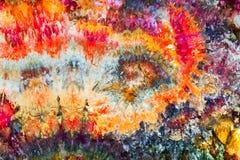Fabulous dyed fabrics by Leah Fawthrop Stock Photos