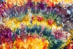 Fabulous dyed fabrics by Leah Fawthrop Royalty Free Stock Photo
