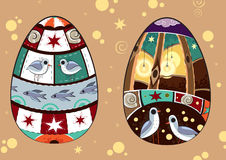 Fabulous_eggs stock illustratie