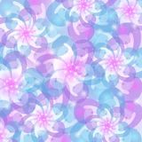 Fabulous flower glade Stock Images