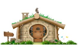 Fabulous Forest Gnome Hut Royalty Free Stock Photography