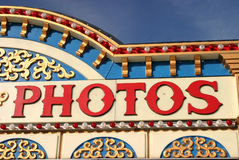 Fabulous Fotos. A photo booth was available for visitors to the State Fair of Texas in Dallas in 2003 stock photo