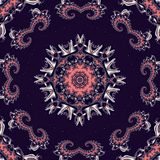 Fabulous fractal background with circle ornament. You can use it Stock Images