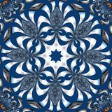 Fabulous fractal background. You can use it for invitations, not. Ebook covers, phone case, postcards, cards, ceramics, carpets and so on. Artwork for creative Royalty Free Stock Photography