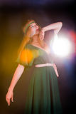 Fabulous girl Stock Images