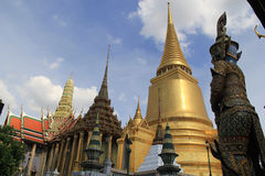 Fabulous Grand Palace and Wat Phra Kaeo - Bangkok Royalty Free Stock Photos
