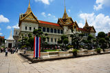 Fabulous Grand Palace and Wat Phra Kaeo - Bangkok, Thailand Royalty Free Stock Images