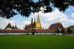 Fabulous Grand Palace and Wat Phra Kaeo - Bangkok, Thailand stock images