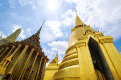 Fabulous Grand Palace and Wat Phra Kaeo - Bangkok, Thailand 4 royalty free stock image