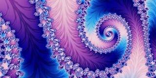 Fabulous horizontal abstract background with Spiral Pattern. You. Can use it for invitations, banners, postcards, cards and so on. Artwork for creative design Stock Images