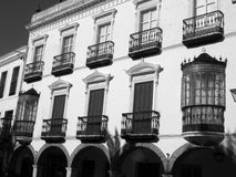 Fabulous Ironwork in Zafra, Spain Stock Image