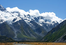 Fabulous landscape in New Zealand Royalty Free Stock Photo