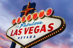 Fabulous Las Vegas Sign Royalty Free Stock Photography