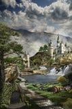 Fabulous palace Royalty Free Stock Image