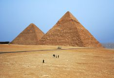 Fabulous pyramids Royalty Free Stock Photos