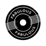 Fabulous rubber stamp Royalty Free Stock Photos