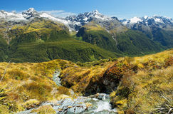 Fabulous scenery in New Zealand Royalty Free Stock Image