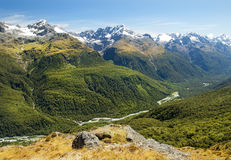 Fabulous scenery in New Zealand Royalty Free Stock Photo
