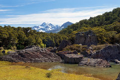 Fabulous scenery in New Zealand Stock Photography
