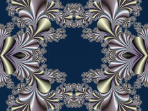 Fabulous symmetrical background. Magical Satin. You can use it f Stock Images