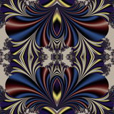 Fabulous symmetrical background. Magical Satin.  Royalty Free Stock Photos