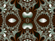 Fabulous symmetrical pattern for background. Collection - Magica Stock Image
