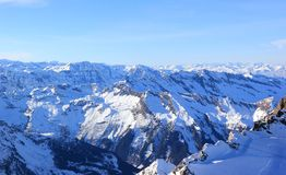 Fabulous Views � Kitzsteinhorn Mountain ski area, Austria. Stock Photos
