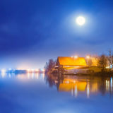 Fabulous winter landscape Royalty Free Stock Image