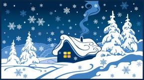 Fabulous winter landscape. Stock Images