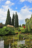 Fabulously beautiful Italian garden Sigurta. Royalty Free Stock Photos