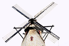 Fabyan Windmill. On the east side of Fabyan Forest Preserve, stands the majestic Fabyan Windmill. The 68-foot, 5-story structure was originally built by Louis Royalty Free Stock Photography