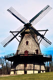 Fabyan Windmill. On the east side of Fabyan Forest Preserve, stands the majestic Fabyan Windmill. The 68-foot, 5-story structure was originally built by Louis Royalty Free Stock Photos