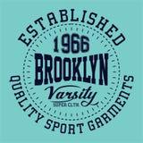 Fac de Brooklyn de conception Photo stock