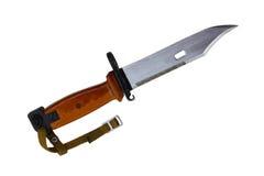 Faca da baioneta Imagem de Stock