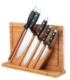 Faca de cozinha Fotos de Stock